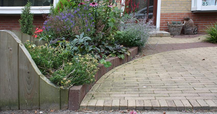 Tuinstijl: Modern, ronde/organische vormen