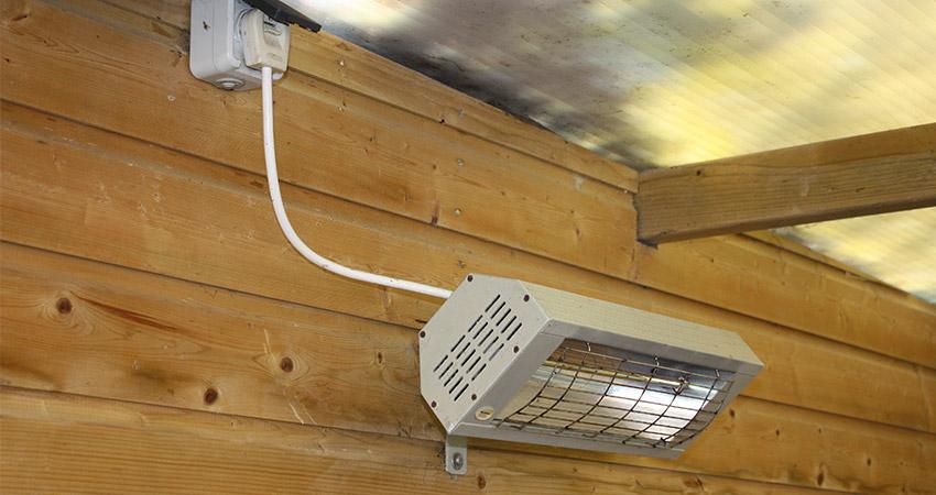 Tuinbergingen en overkappingen: Terrasverwarmer
