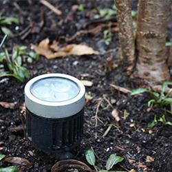 Tuinverlichting/electra: Inlite prikspot