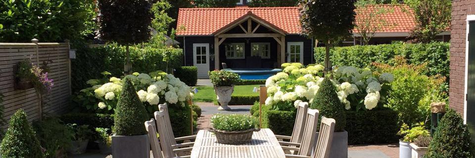 Met degelijk materiaal en vakmanschap, uw tuin perfect gemaakt!