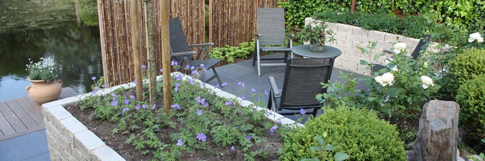 Maatwerk om van uw tuin een beleving  te maken die bij u past!