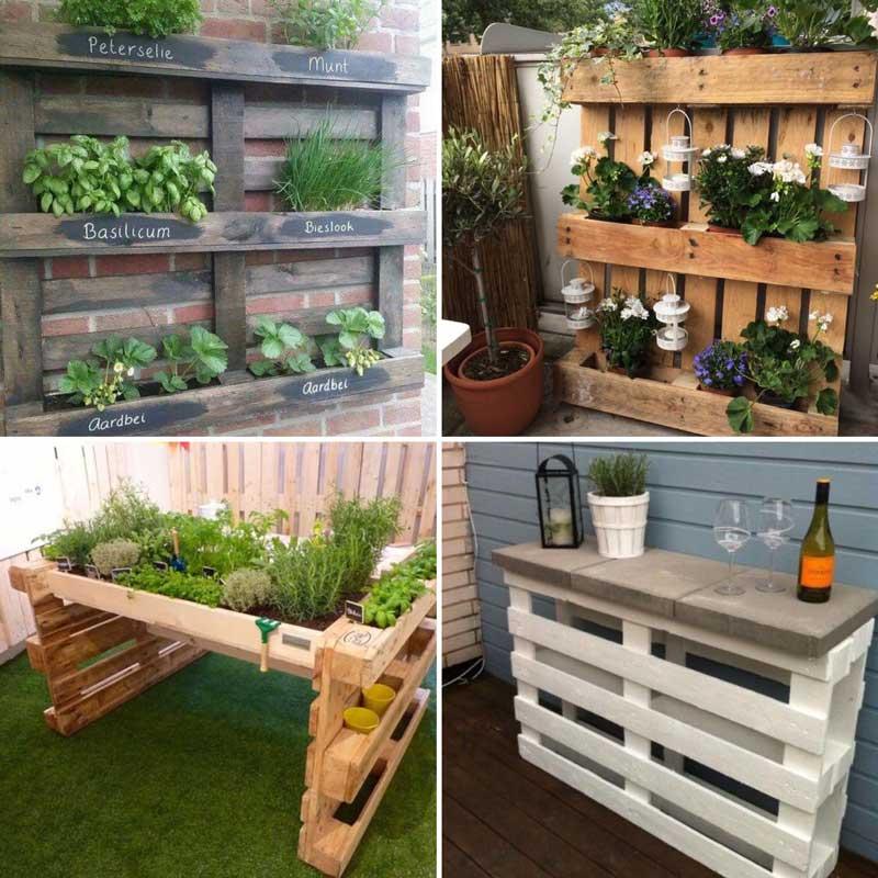 creatief met gratis pallets van groenst groenst hoveniers. Black Bedroom Furniture Sets. Home Design Ideas